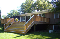 Deck Installation by SR Remodeling