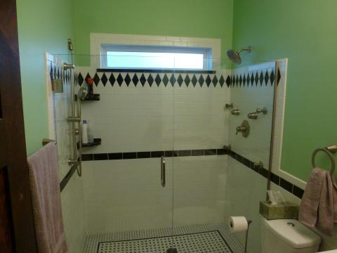 Bathroom after remodel