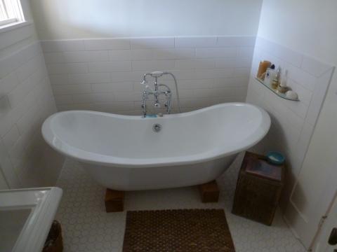 Bathroom after remodel
