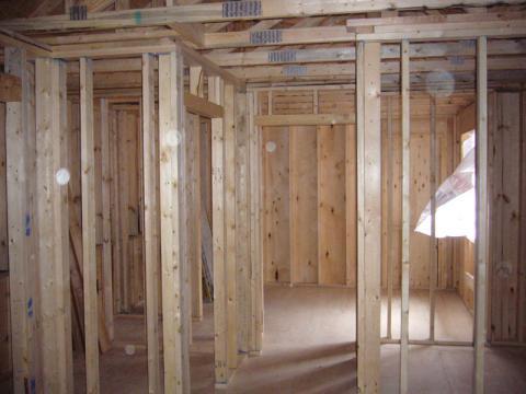 Bathroom Build Frame