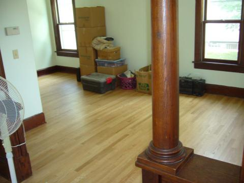 Hardwood Floor Finished Installation